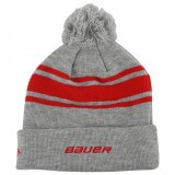 Шапка Bauer New Era Team Stripe Pom Pom